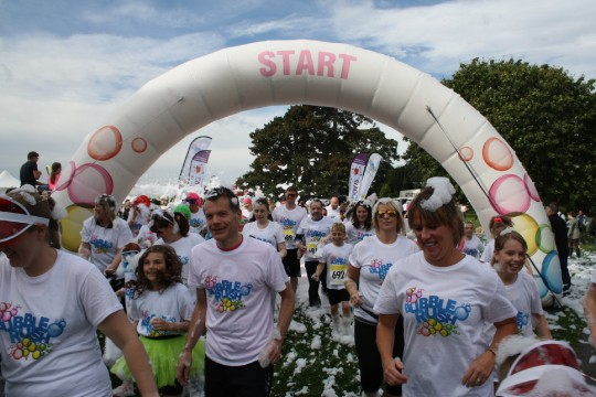 Flogas are proud sponsors of the Rainbows Hospice's 'Bubble Rush' image 2