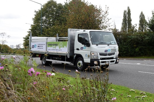 Flogas invests in a greener fleet with first hybrid delivery truck image 1