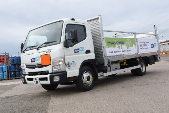 Flogas invests in a greener fleet with first hybrid delivery truck image 2