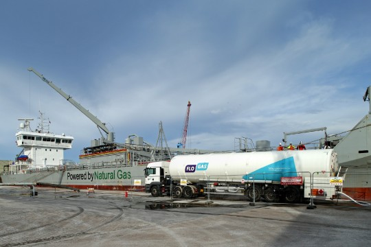 Flogas joins forces with ABP to bunker ships with LNG in UK first image 1