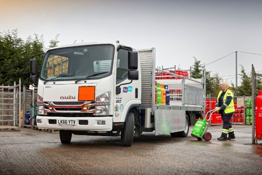 Life's a gas for Flogas with its new Isuzu trucks image 1